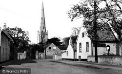 Church Street c.1960, Bottesford
