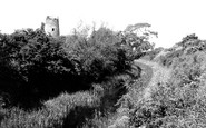 Bottesford, Grantham Canal And The Old Mill c.1955
