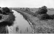 Bottesford, Grantham Canal c.1955