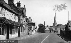Market Street c.1955, Bottesford
