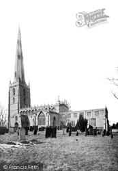 St Mary's Church 1890, Bottesford