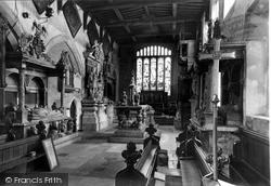 The Church, Interior c.1955, Bottesford