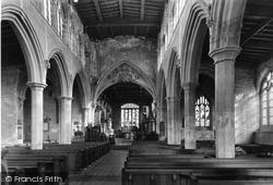 The Church Nave c.1955, Bottesford