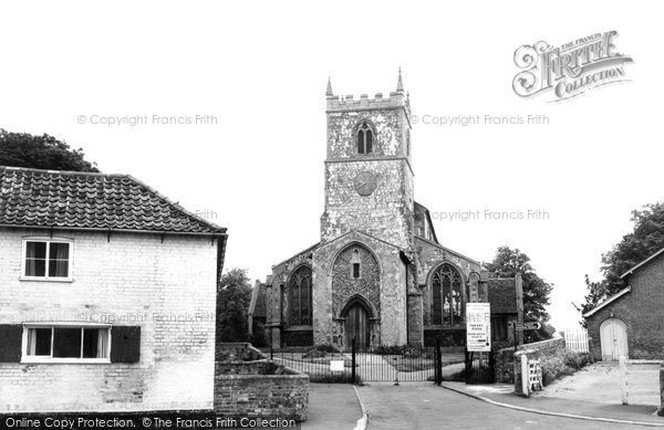 Bottisham, Holy Trinity Church c.1955
