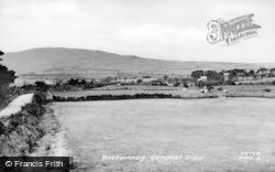 Botwnnog, General View c.1955