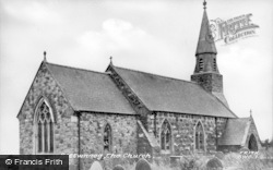 Botwnnog, The Church c.1955