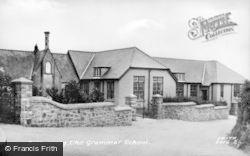 Botwnnog, The Grammar School c.1955