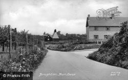 Boughton, Bull Lane c.1955, Boughton Street