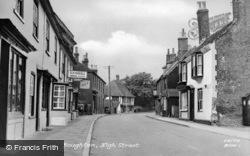 Boughton, High Street c.1955, Boughton Street