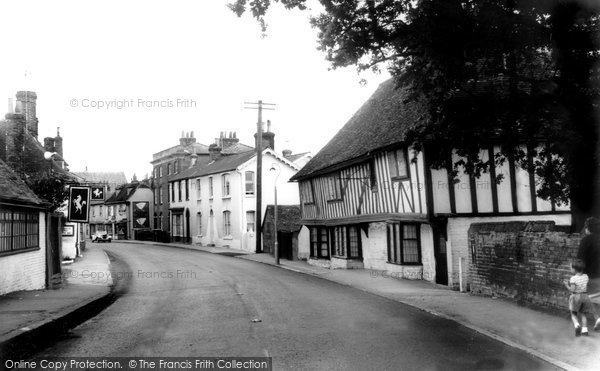 Photo of Boughton, Old Houses c1960