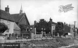 Boughton, St Barnabas Church  c.1955, Boughton Street