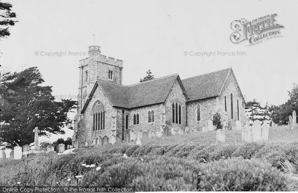 Boughton, The Parish Church c.1955