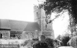 Boughton, The Parish Church c.1960