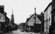 Boughton, The Village c.1955