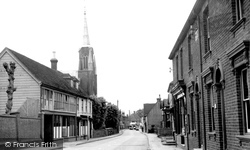 Boughton, The Village c.1960