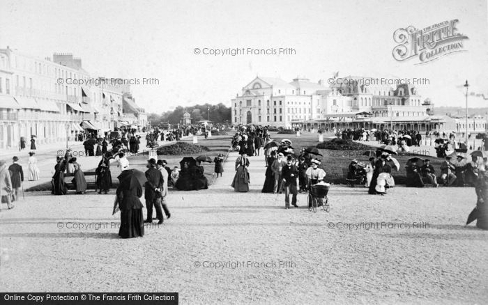 Photo of Boulogne Sur Mer, The Casino And Terrace c.1890
