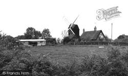 Bourn Windmill c.1955, Bourn