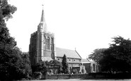Bourn, Church Of St Helena And St Mary c.1955