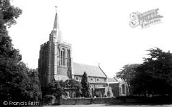 Church Of St Helena And St Mary c.1955, Bourn