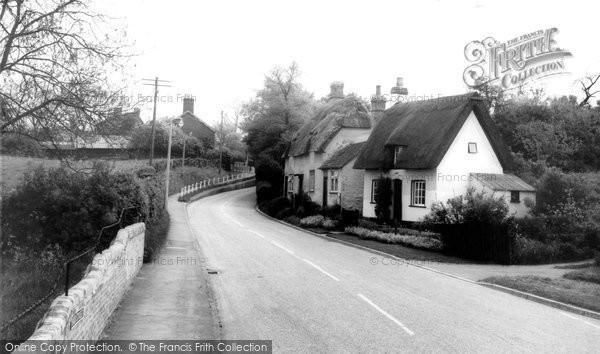 Photo of Bourn, High Street c1955
