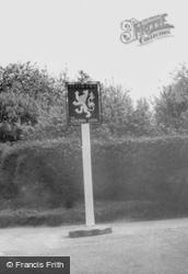 The Golden Lion Sign c.1955, Bourn
