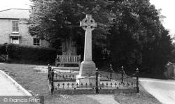 Bourn, The Memorial c.1960