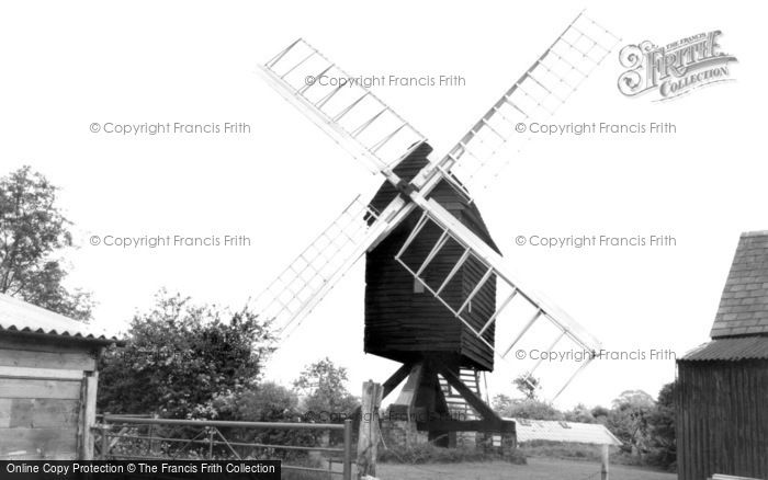 Bourn,Mill  c1955,Cambridgeshire