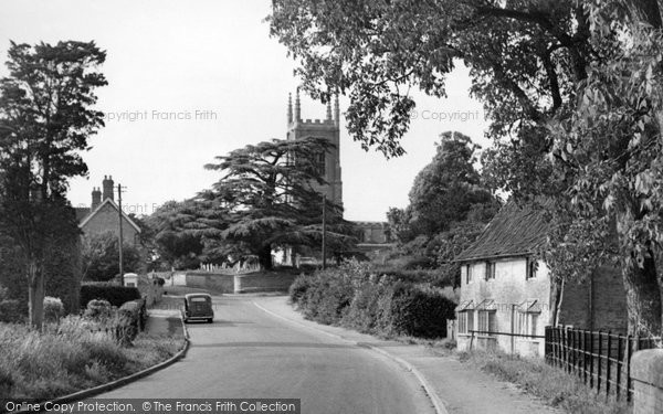 Bourne, Edenham Village c.1955