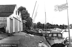 Bourne End, Boat Houses c.1955