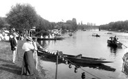 Bourne End, Boats On The Thames 1899