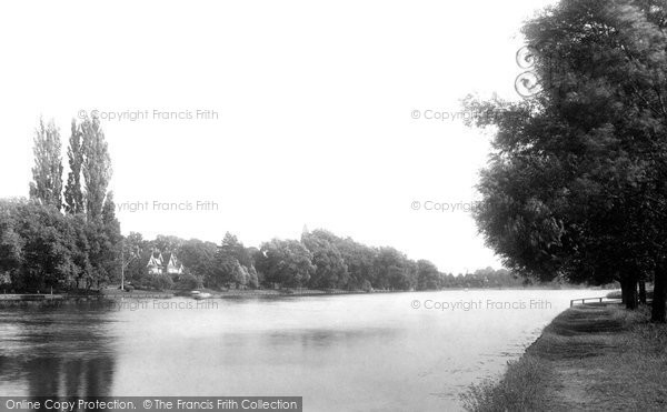Bourne End, From Railway Bridge 1899