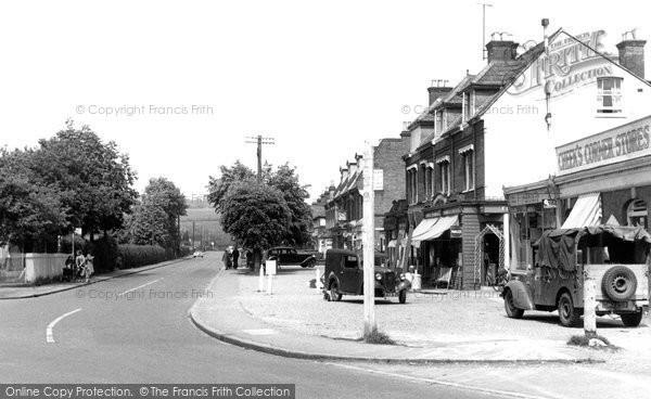 Bourne End, Furlong Road c.1955