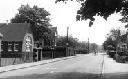 Bourne End, Hedsor Road c.1955