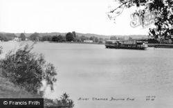 Bourne End, River Thames c.1955