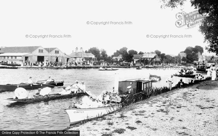 Bourne End, The Marina And Boatyard 1899