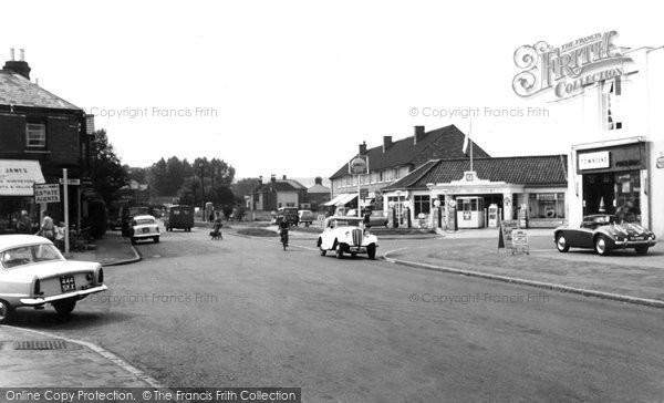 Bourne End, the Parade c1960