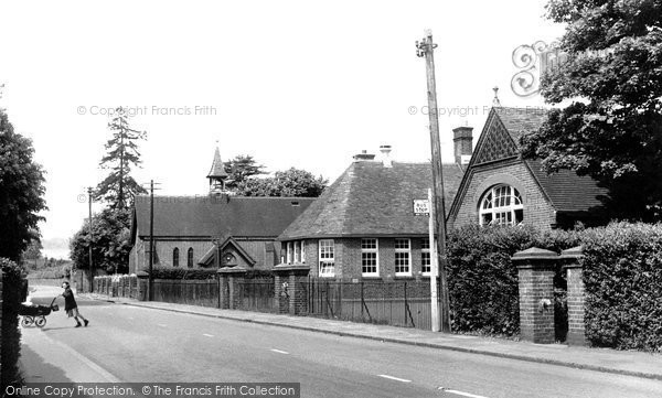 Bourne End, the School c1955
