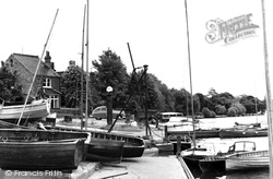 Bourne End, Townsend Boat Landing c.1955