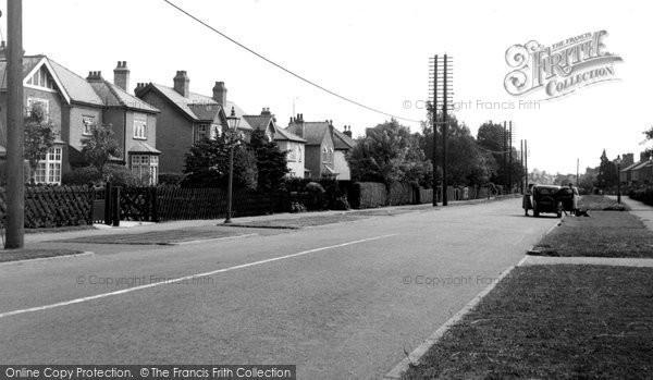 Bourne, North Road c.1955