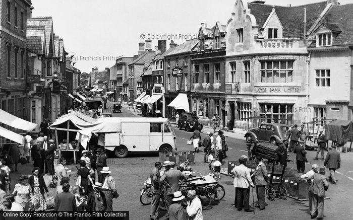 Bourne, North Street 1952