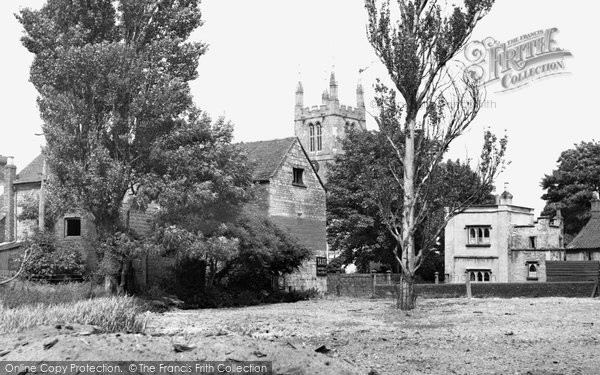 Bourne, St Peter And St Paul's Church c.1955