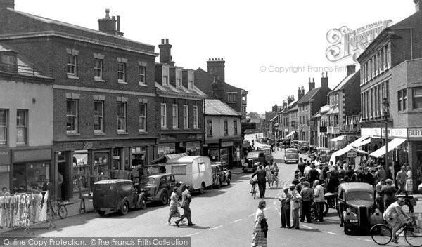 Bourne, West Street c.1952