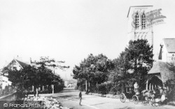 Bournemouth, Adelaide Villas And St Peter's Church 1874