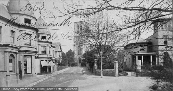 Bournemouth, Arcade c.1871