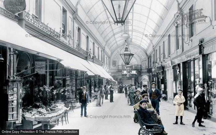Bournemouth, Arcade c.1910