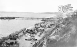 Bournemouth, Bank Holiday Amusement Fair, East Beach 1890