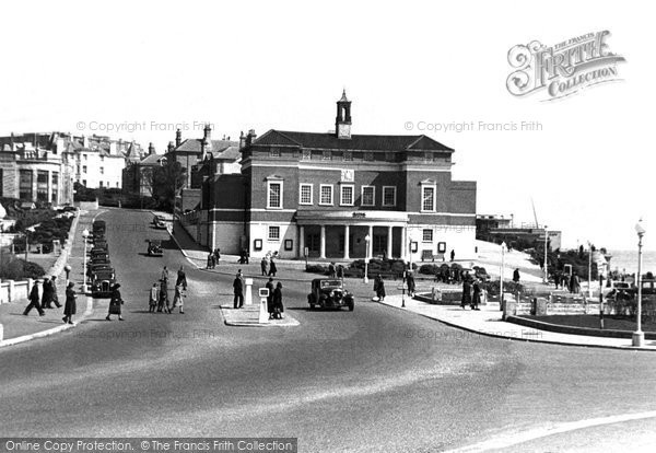 Bournemouth, Baths from Bath Road c1948