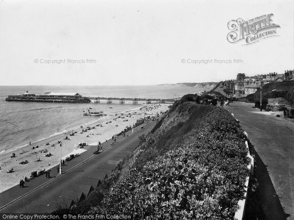 Bournemouth, Beach And Pier 1933