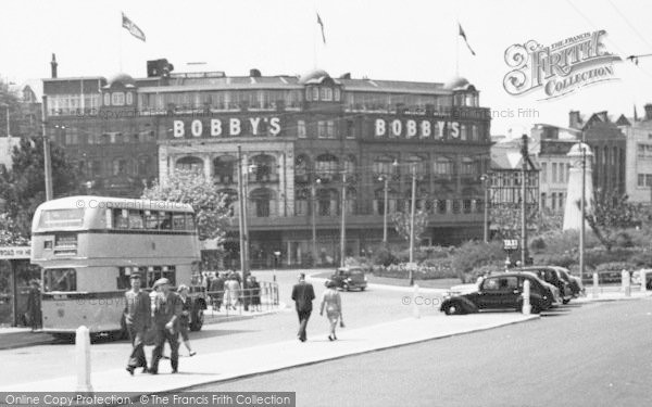 Photo of Bournemouth, Bobby's Department Store c.1955