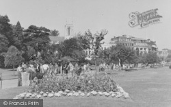 Bournemouth, Central Gardens c.1955